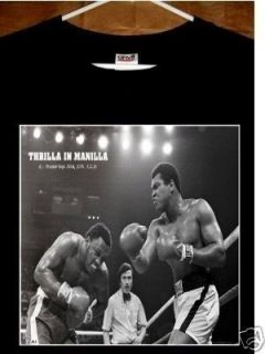 Muhammad Ali vs Joe Frazier T Shirt Thrilla in Manilla