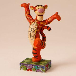 Jim Shore Disney Traditions Figurine Tigger Personality Pose 4016554