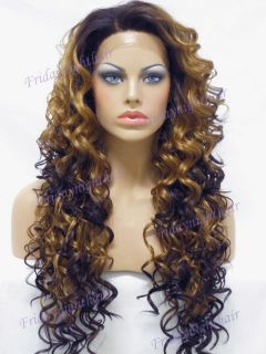 New Top Quality Synthetic Lace Front Full Wig GLS59