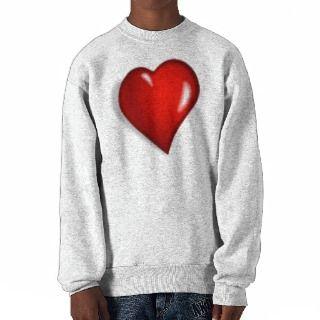 HEART 1 PULLOVER SWEATSHIRT