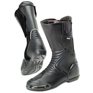 Joe Rocket Sonic R Motorcycle Boot Black Size 10 Mens Waterproof