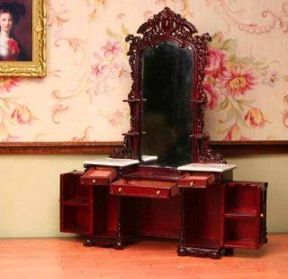 Bespaq Vanity Dollhouse Miniature Furniture 1 12 Scale