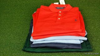 New w Tags Mens Ralph Lauren L s Golf Polo Shirts Pick Your Size