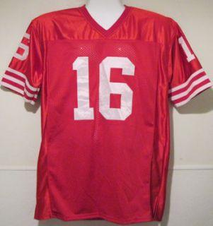 Joe Montana Autographed Signed San Francisco 49ers Red Size XL Jersey