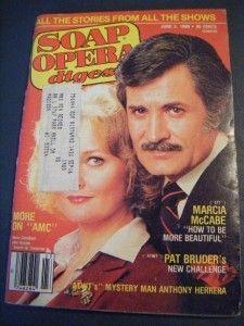 Soap Opera Digest June 1980 John Aniston SFT Days