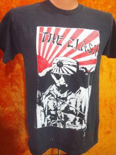 Vintage The Clash T Shirt Punk Joe Strummer Great Condition Size Large