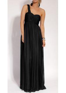 Stunning One Shoulder Cocktail Formal Evening Dress Jodhi NEW sz 14