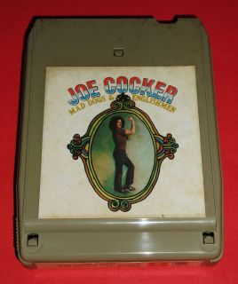 Joe Cocker  MAD DOGS & ENGLISHMEN  TESTED & WORKING 8 Track Tape