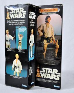 Vintage 1977 Luke Skywalker Large Action Figure Kenner