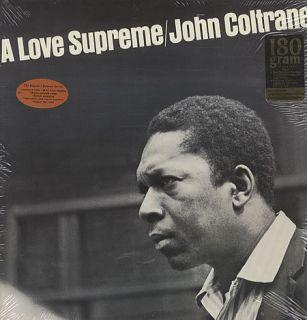 John Coltrane LP A Love Supreme Brand New SEALED Vinyl LP Virgin Vinyl