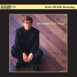 Elton John Love Songs Japan K2HD 100KHz 24bit K2 Mastering CD New