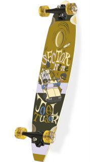 Sector 9 Mr Joel Tudor Brown Longboard Complete 8 75 x 38 3