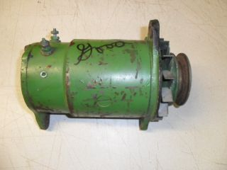 John Deere Generator Delco Remy 1100380 5J8 12 Volt Works 1010 2010