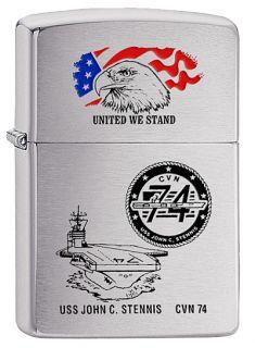 USS John C STENNIS CVN 74 Zippo United We Stand