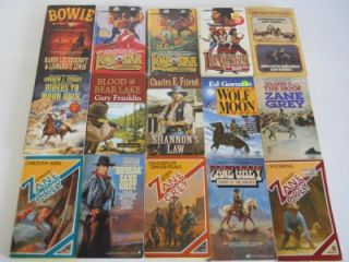of 94 Western Paperback Books William w Johnstone Ralph Compton