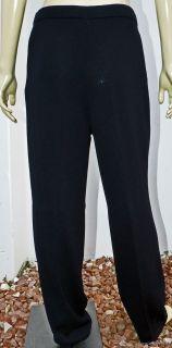 Gorgeous St John Basics by Marie Gray Black Knit Pants – Sz 10
