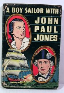 1946 A Boy Sailor with John Paul Jones Book w DJ