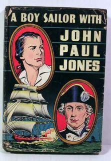 1946 A Boy Sailor with John Paul Jones Book w DJ