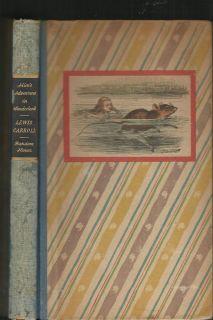 Alice in Wonderland 1946 Lewis Carroll John Tenniel Illustrations