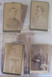 Cadet Photographs CDVs 1879 1881 Virginia Military Academy Cadet