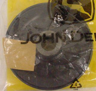 John Deere Mower Blade Pulley AM105652 46 Decks 200 Series F510 F525