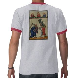 Codex Manesse   Knights on foot battling Shirt