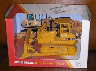 Britains Ertl Plant 1 64th Scale 5261 John Deere 850C Crawler Dozer