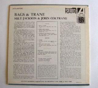 John Coltrane Blue Train Milt Jackson Bags & Trane Records 2 LPs Blue