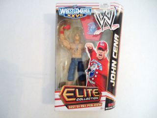 John Cena WWE Elite Collection Best of Pay per View Series