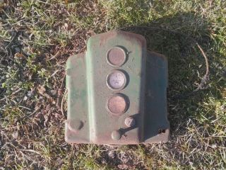 John Deere A Dash Cover Late Styled