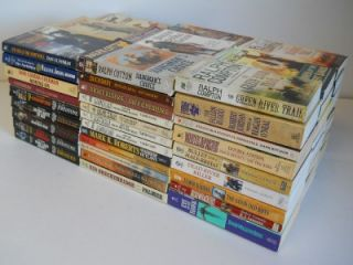 of 92 Western Paperback Books William w Johnstone Ralph Compton