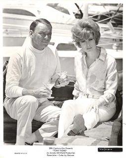 "Jill St John Frank Sinatra in ""Tony Rome"" Orig 1967"