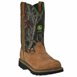 John Deere Ladies Wellington Cowboy Boots Size 5 11