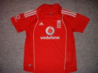 "England Cricket Shirt Adidas Ashes Boy Girl Ladies 36"""