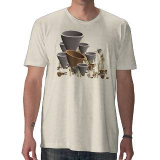3D Tube Garden  Abstract T Shirts from Zazzle