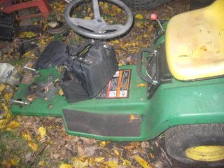 John Deere STX38 STX46 Garden Lawn Tractor Body Frame Tub Go Cart Mower RARE