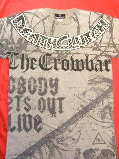 Chris Tuchscherer CROWBAR T shirt Death Clutch