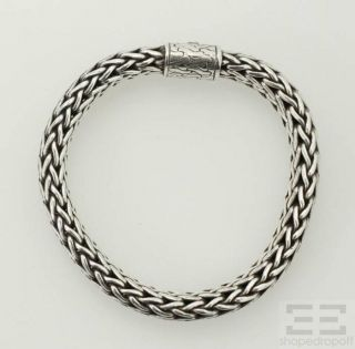 John Hardy Sterling Silver Large Bracelet Classic Chain Collection
