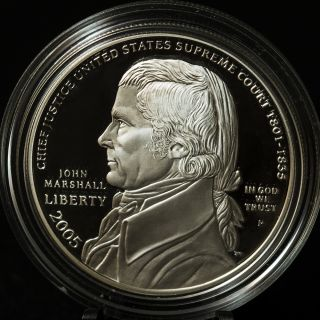 2005 P United States John Marshall Commemorative Coin