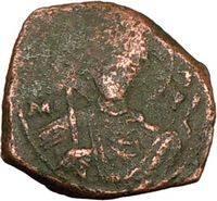 JOHN II 1118AD Rare Authentic Ancient BYZANTINE Coin JESUS CHRIST