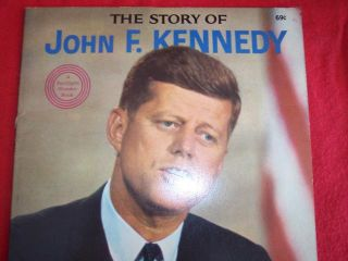 SI467 1964 The Story of John F Kennedy President Book