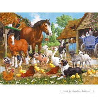 New Gibsons Jigsaw Puzzle 1000 Pcs John Francis Animal Farm G6044
