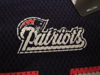 New Reebok Mens John Lynch New England Patriots NFL Football Jersey Sz L