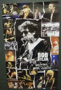 Bob Dylan Promo Poster The 30th Anniversary Concert Celebration John Mellencamp