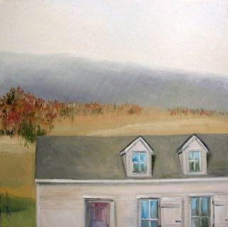 Original LANDSCAPE OIL Painting John Williams ORIGINAL art JMW Impressionism