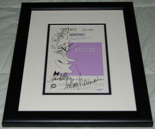 Leroy Neiman Bob Hope John Ritter OJ Simpson Signed Catalog w Art JSA