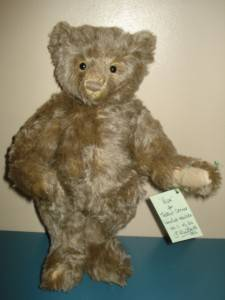 Pepe Jointed Mohair Artist Teddy by Mother Hubbard 1997 Limited Edition 34cm |