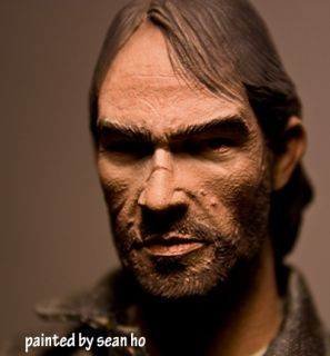 1 6 Custom Cowboy Marston Red Dead Figure Western Head Sculpt John