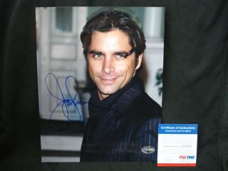 John Stamos Full House ER Signed Auto Photo PSA DNA