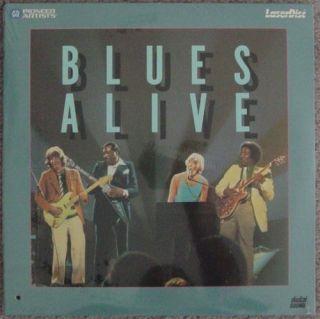 Blues Alive John Mayall's Bluesbreakers Live John McVie Fleetwood Mac Laserdisc